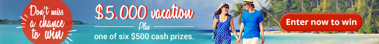 Win your dream vacation contest