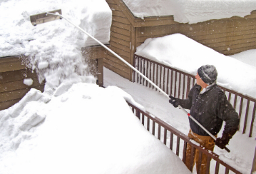Snow storm in the forecast? Protect your roof from a heavy snow load
