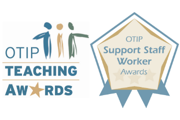 OTIP Teaching Awards and Support Staff Worker Awards now open!