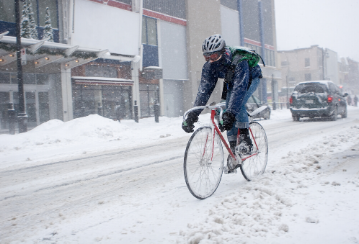 Don't let winter keep you off your bicycle—tips for staying in the saddle year-round